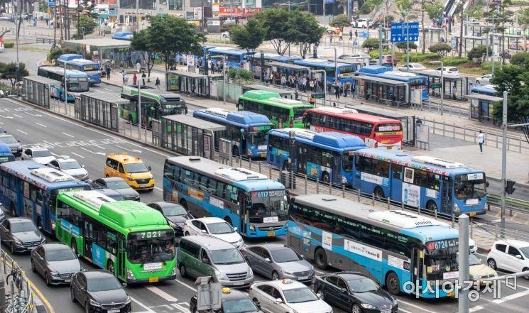 [포토]서울 버스 파업 결정 철회
