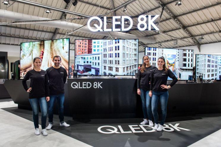 삼성전자, 유럽 최초로 8K 위성 방송 송수신