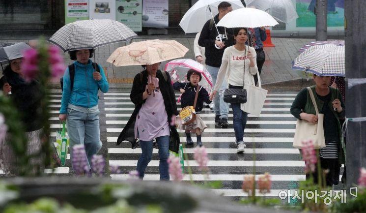[포토] 비 내리는 거리