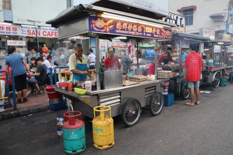 싱가포르-말레이 '노천식당' 전쟁