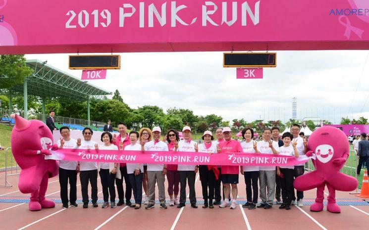[포토] 제19회 핑크런 광주대회 참가자 격려