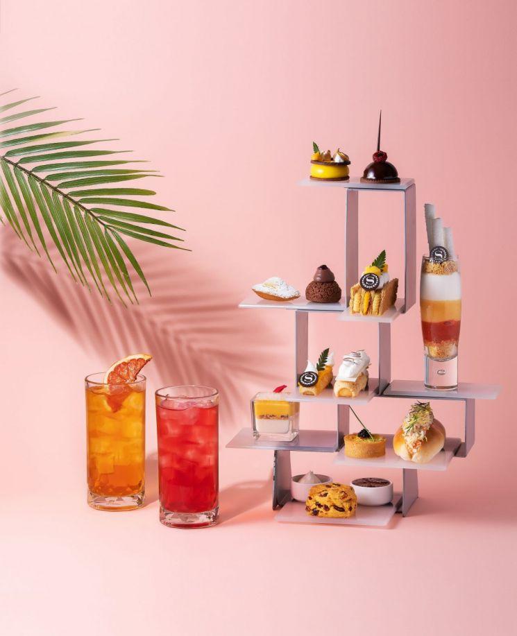 호텔업계, '여름의 맛' 담은 '애프터눈 티 세트' 속속 출시