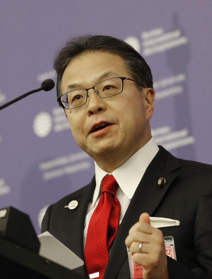 세코 히로시게 일본 경제산업상 (사진=AP연합뉴스)