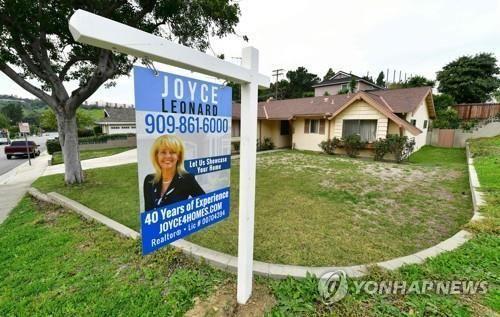 미국 단독주택 판매. 자료사진. 출처=연합뉴스