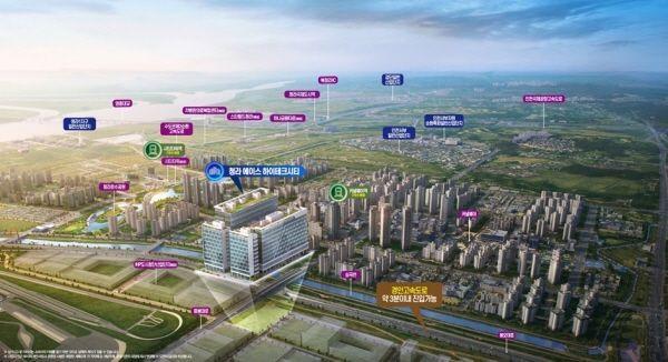 청라국제도시, 첫 번째 지식산업센터 '청라에이스하이테크시티' 분양예정