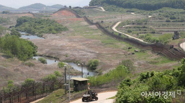 지난 22일 취재진 등에게 공개된 강원도 철원군 'DMZ 평화의 길' / 사진공동취재단