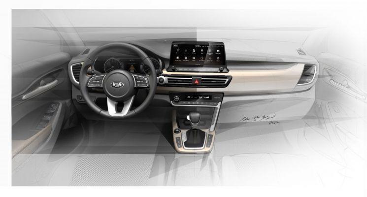 기아차 소형 SUV SP2 렌더링 이미지/사진=기아차