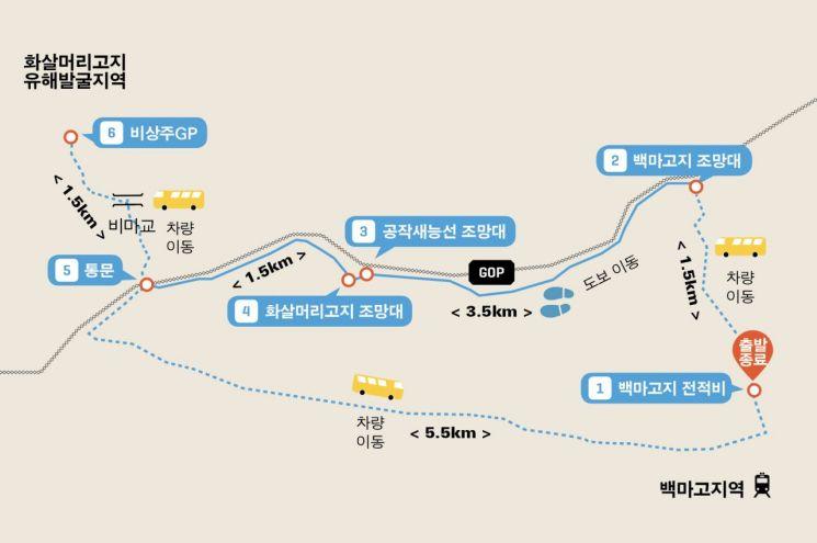 DMZ 평화의 길 철원구간<두루누비 홈페이지>