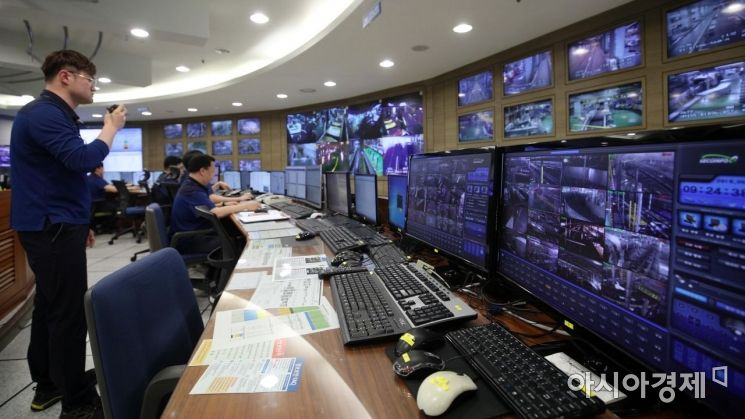 [포토] 인천공항, 수하물처리시스템 복구 훈련