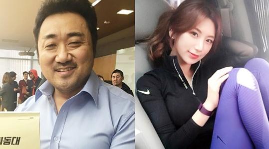 배우 마동석과 예정화 / 사진=마동석, 예정화 인스타그램