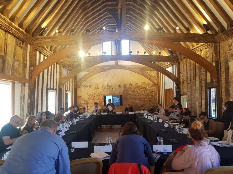 영국에서 열린 '2019 문학창의도시 연례회의' 모습  [사진=부천시]