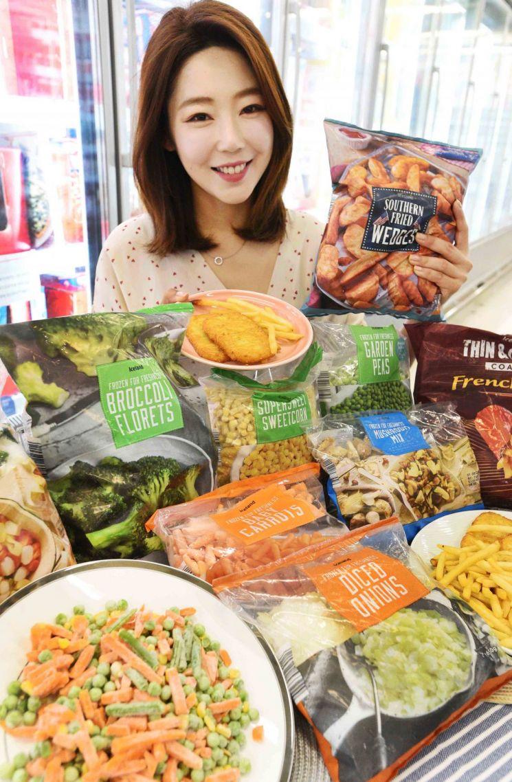 홈플러스, 英에서 온 냉동식품 '아이스랜드' 14종 단독판매
