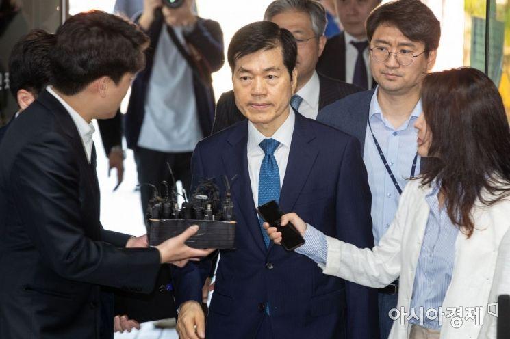 [포토] 김태한 삼성바이오로직스 대표 영장실질심사