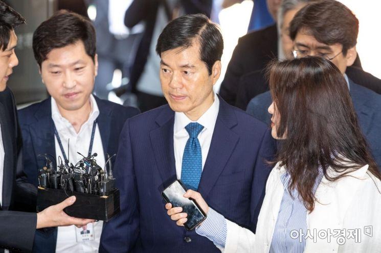 [포토]법원 도착한 김태한 대표
