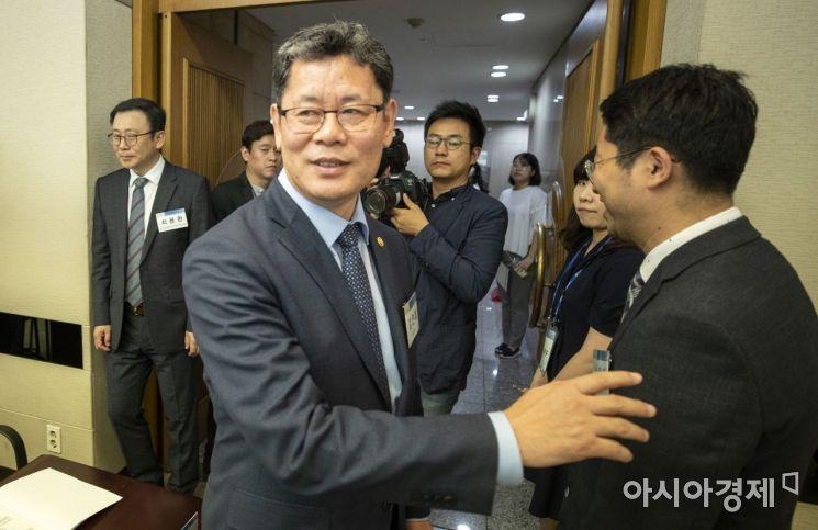 [포토] 김연철 장관, 신한반도 비전 학술회의 참가