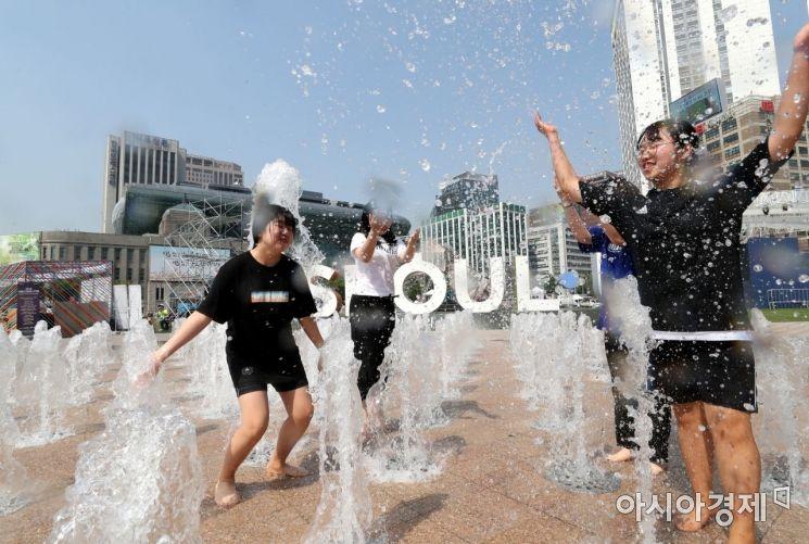 [포토] 서울 첫 폭염주의보