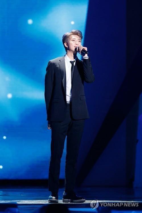 방탄소년단 RM / 사진 = 연합뉴스