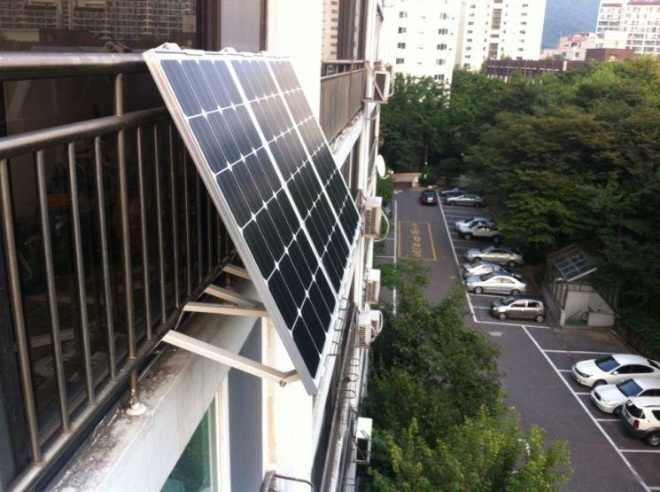 성동구, 가정용 태양광 미니발전소 보급
