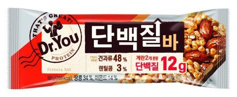 오리온 '닥터유 단백질바', 출시 6주 만에 100만개 판매 돌파