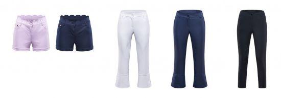 힐크릭, 실용성 강화한 여성용 골프팬츠 3종 출시