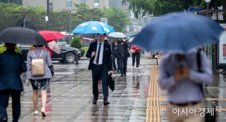 [포토]비오는 출근길