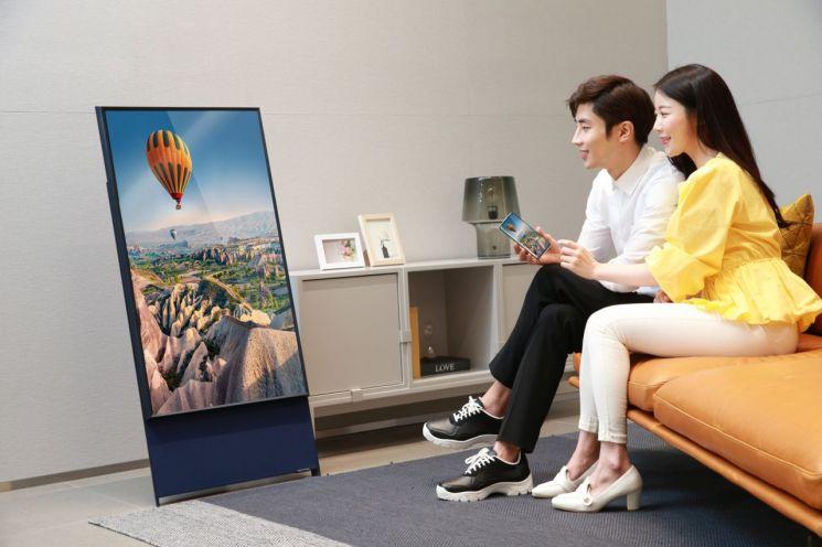 삼성전자, 라이프스타일 TV '더 세로' 온라인 사전 판매 실시