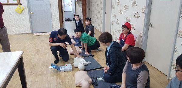 군산(서울)휴게소, 종사원 대상 심폐소생술(CPR) 교육 실시