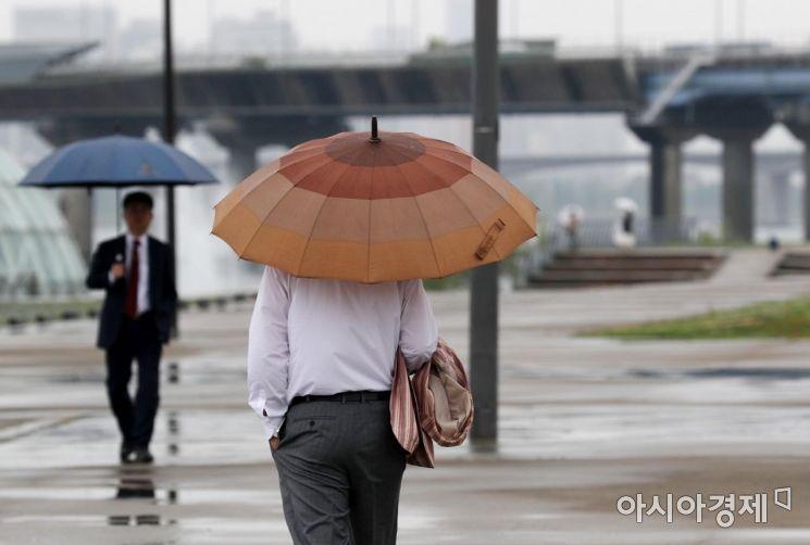 [포토]빗속 산책