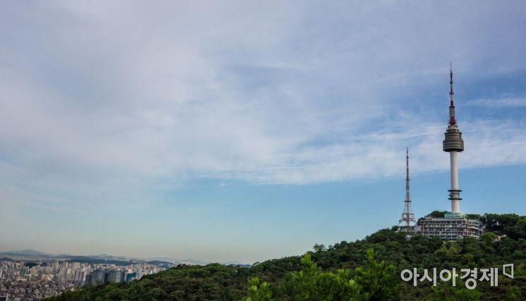 [포토]미세먼지 없는 파란 하늘