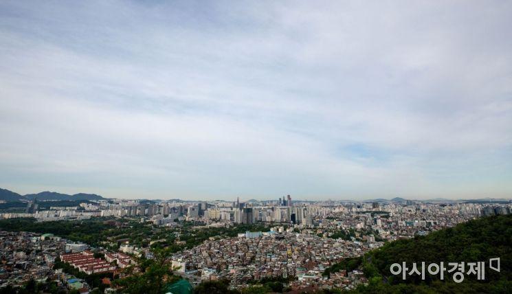 [포토]맑은 하늘 드러낸 서울