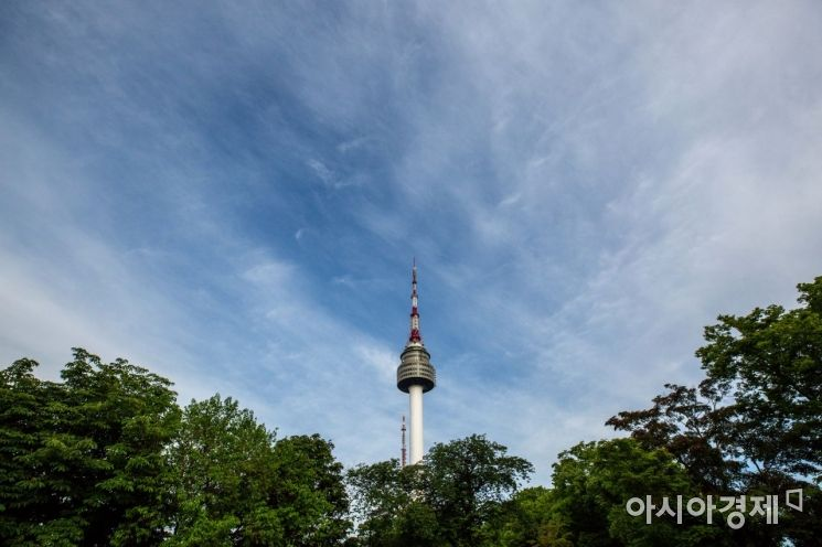 [포토]그림 같은 하늘