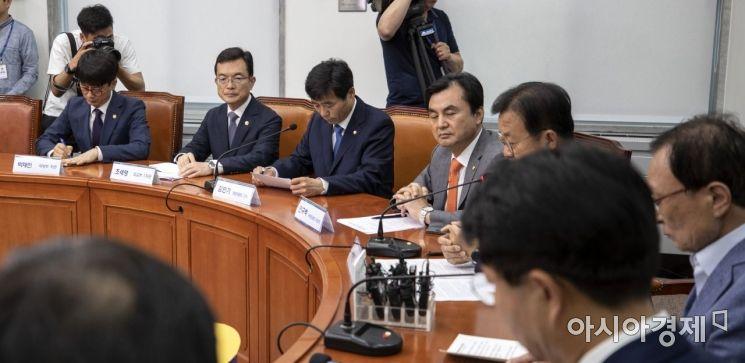 [포토] 표정 굳은 조세영 외교부 차관