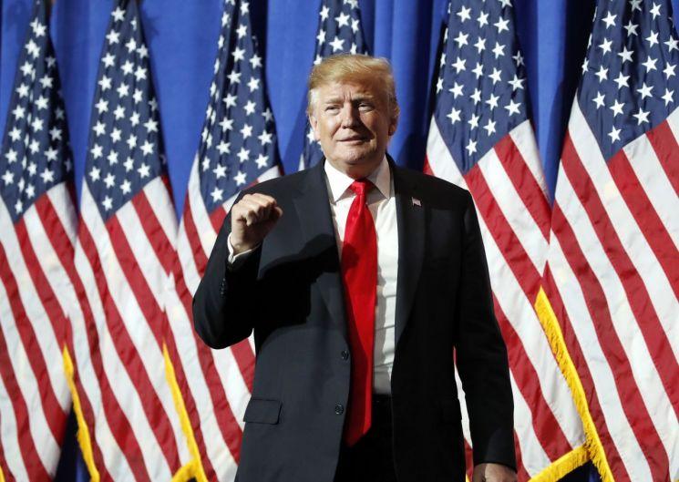 도널드 트럼프 대통령이 '미국을 계속 위대하게(Keep America Great)'란 슬로건을 걸고 오는 18일 내년 대선 출마를 공식 선언키로 했다.(사진=AP연합뉴스)