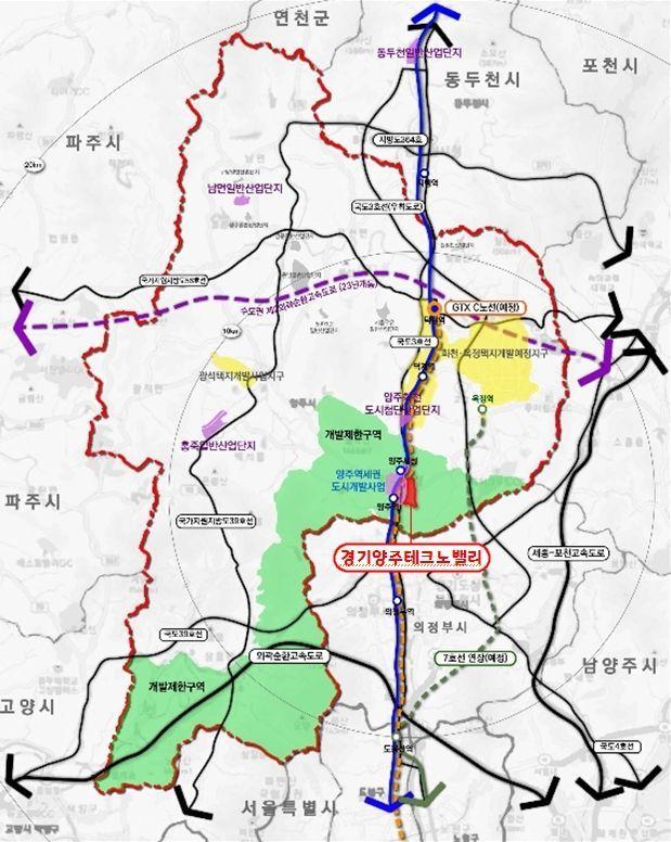 경기북부 성장판 '양주테크노밸리' 첫 삽 뜬다
