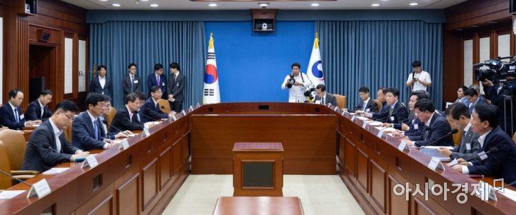 [포토]'혁신성장 정책금융협의회'