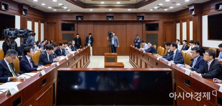 [포토]혁신성장 정책금융협의회