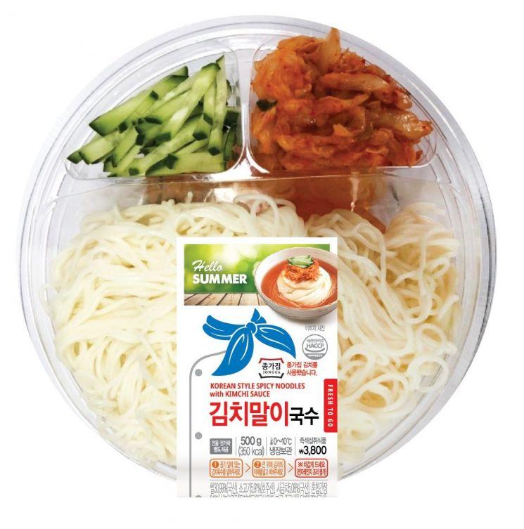 이마트24, 여름 앞두고 김치말이국수·와사비삼각초밥 출시
