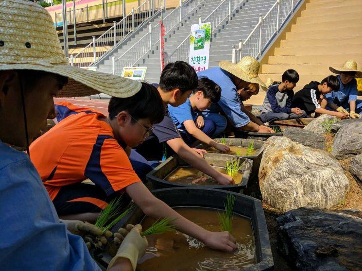 은평구 '2019. 움직이는 친환경 논밭학교' 운영