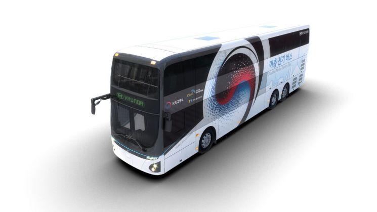 현대차 2층 전기버스/ 사진=현대차