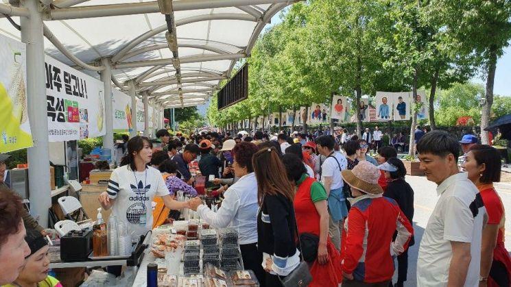 곡성세계장미축제서 선보인 '로즈팜마켓' 성료