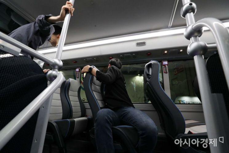 [포토]'2층 전기 버스가 궁금해'