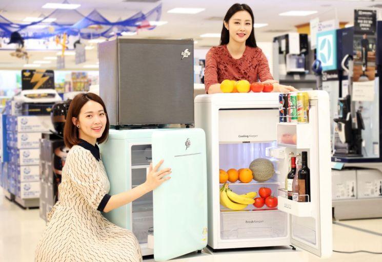 [포토]이마트, 원룸 어울리는 '일렉트로맨 냉장고' 3종 출시