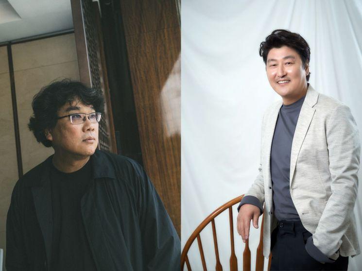 """[인터뷰②]'기생충' 봉준호·송강호 """"뽕뽀로봉봉? 송쏘로송송! 가끔 애칭 불러요"""""""