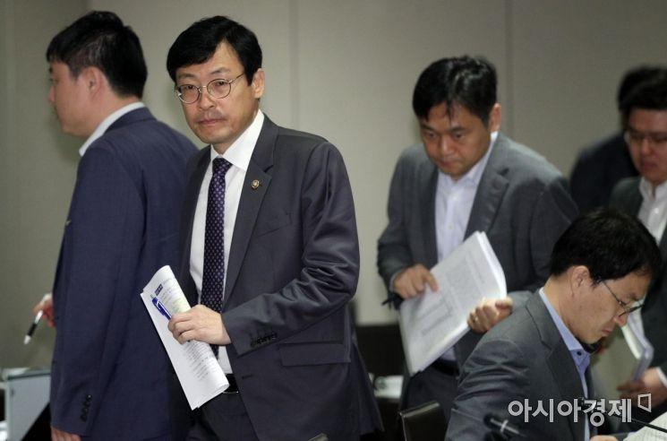 [포토] 이호승 차관, 국민연금기금운용위 참석