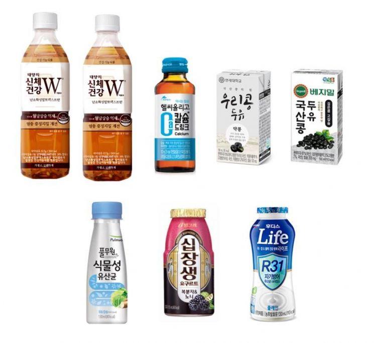 """유통업계, """"건강이 제일"""" '셀프메디케이션족' 공략 건강 음료 인기"""