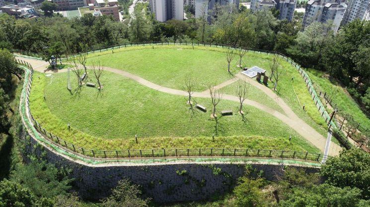배봉산 정상부 근린공원