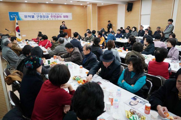 [서울 구청장 25시] 현장에서 주민과 소통, 답찾는 '마음 따뜻한' 유덕열 동대문구청장