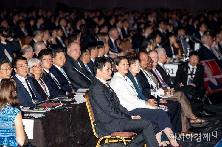 [포토]조원태 사장, IATA 연차총회 참석