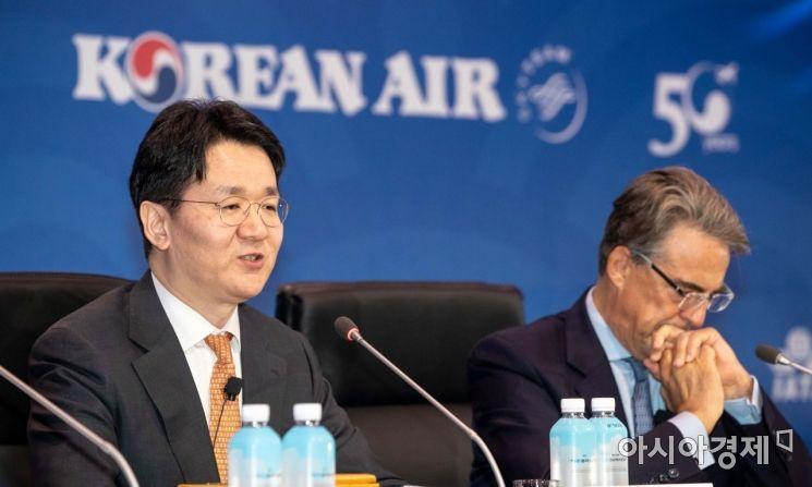 [포토]IATA 연차총회서 의장으로 선출된 조원태 사장