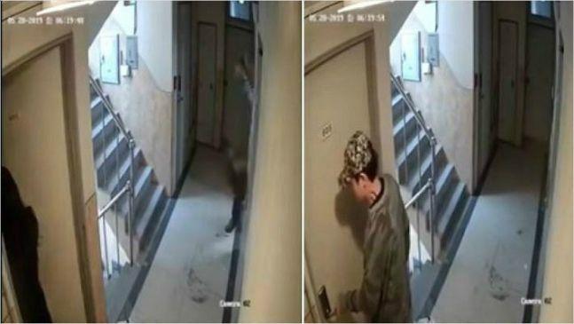 '신림동 강간미수' 사건, 피의자의 범행 시도 영상 / 사진 = 유튜브 영상 캡처
